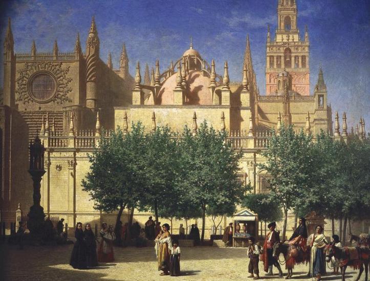 Catedral de Sevilla para Achille Zo