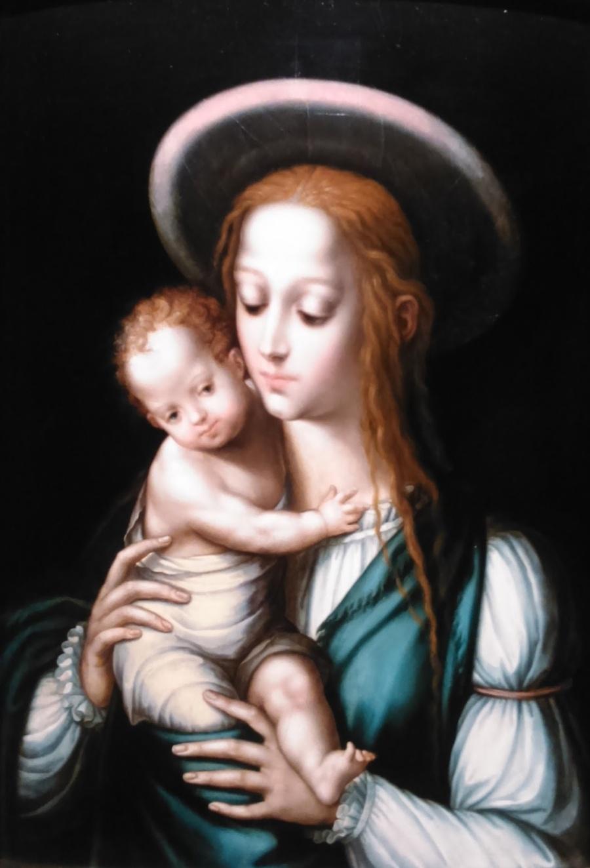 1567-1570_La Virgen vestida de gitana
