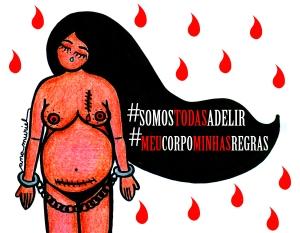Dibujo para la campaña de apoyo a Adelir