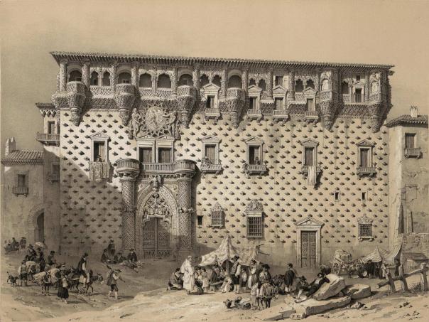 Jenaro_Pérez_Villaamil_(1842)_Guadalajara._Palacio_de_los_Duques_del_Infantado (1)