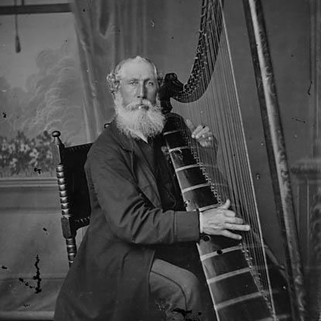 John-Roberts-Telynor-Cymru harpa