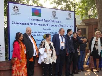 Marcel, Ana Dalila, Jeta, El presidente de la Unión Romaní Internacional, su hijo, Silvia y Nico